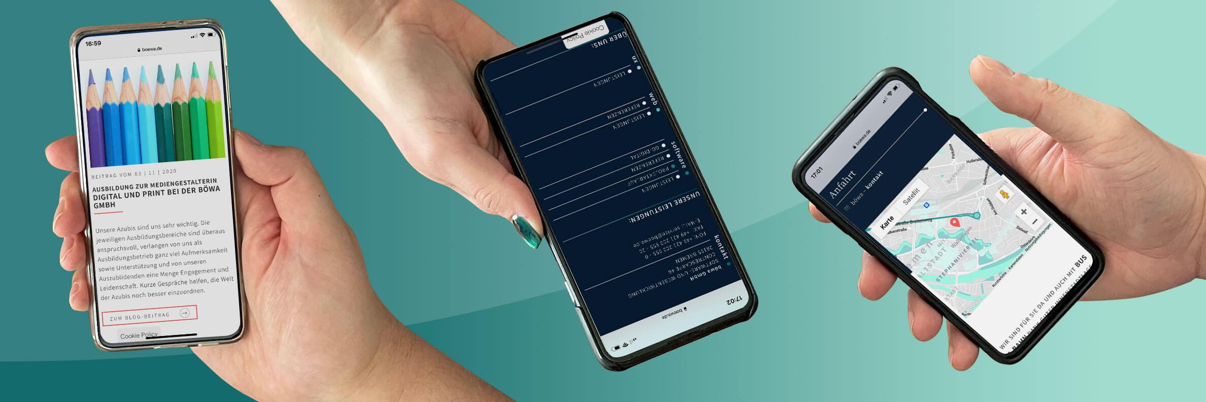 Optimieren Sie Ihre Website für Smartphones!